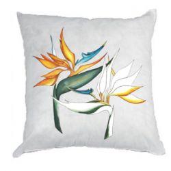 Подушка Flowers art painting