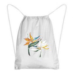 Рюкзак-мішок Flowers art painting