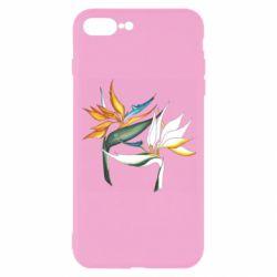 Чехол для iPhone 7 Plus Flowers art painting