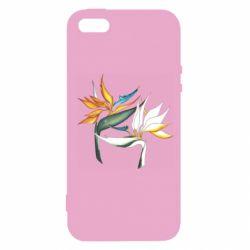 Чохол для iphone 5/5S/SE Flowers art painting