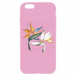 Чехол для iPhone 6/6S Flowers art painting