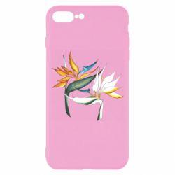Чехол для iPhone 8 Plus Flowers art painting