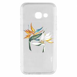 Чехол для Samsung A3 2017 Flowers art painting