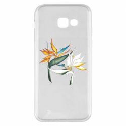 Чехол для Samsung A5 2017 Flowers art painting