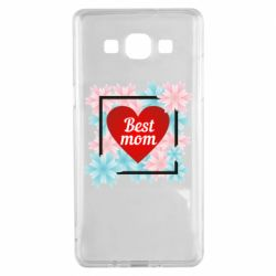 Чохол для Samsung A5 2015 Flowers Best mom