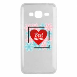 Чохол для Samsung J3 2016 Flowers Best mom