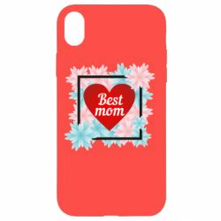 Чохол для iPhone XR Flowers Best mom