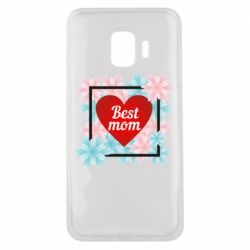 Чохол для Samsung J2 Core Flowers Best mom