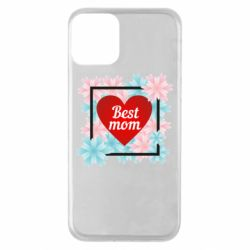 Чохол для iPhone 11 Flowers Best mom