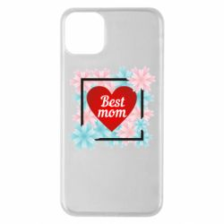 Чохол для iPhone 11 Pro Max Flowers Best mom