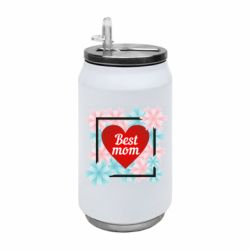 Термобанка 350ml Flowers Best mom