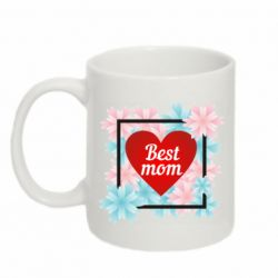 Кружка 320ml Flowers Best mom