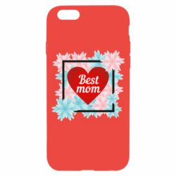 Чохол для iPhone 6/6S Flowers Best mom