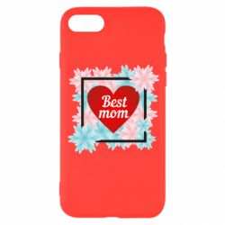 Чохол для iPhone 8 Flowers Best mom
