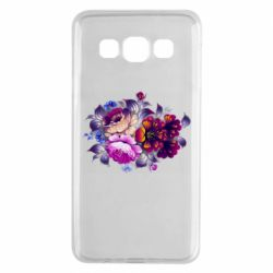 Чехол для Samsung A3 2015 Flowers in a cold shade