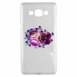 Чехол для Samsung A5 2015 Flowers in a cold shade