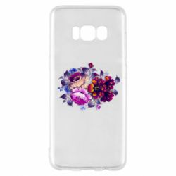 Чехол для Samsung S8 Flowers in a cold shade