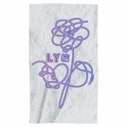 Полотенце Flowers line bts