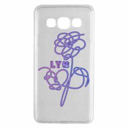 Чехол для Samsung A3 2015 Flowers line bts