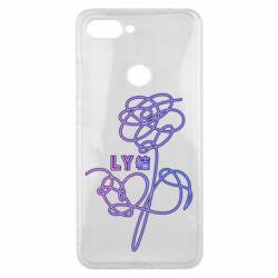 Чохол для Xiaomi Mi8 Lite Flowers line bts