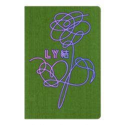 Блокнот А5 Flowers line bts