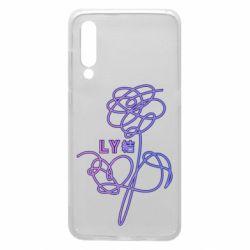 Чохол для Xiaomi Mi9 Flowers line bts