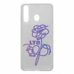 Чехол для Samsung A60 Flowers line bts