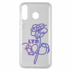 Чехол для Samsung M30 Flowers line bts