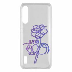 Чохол для Xiaomi Mi A3 Flowers line bts