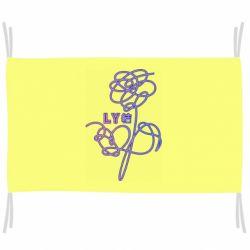 Флаг Flowers line bts