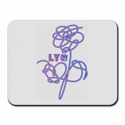 Коврик для мыши Flowers line bts