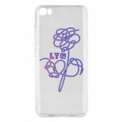 Чехол для Xiaomi Mi5/Mi5 Pro Flowers line bts