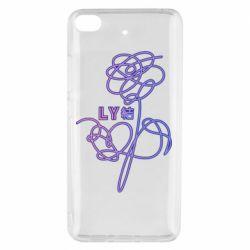Чехол для Xiaomi Mi 5s Flowers line bts
