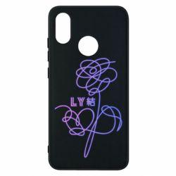 Чохол для Xiaomi Mi8 Flowers line bts