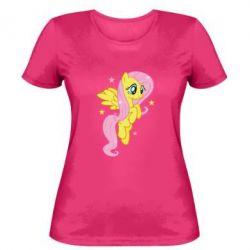 Жіноча футболка Fluttershy - FatLine