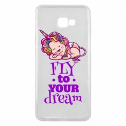 Чохол для Samsung J4 Plus 2018 Fly to your dream and lion