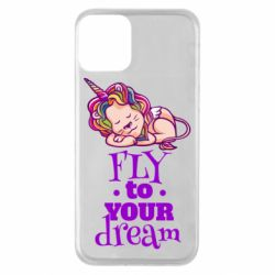 Чохол для iPhone 11 Fly to your dream and lion
