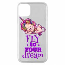 Чохол для iPhone 11 Pro Fly to your dream and lion
