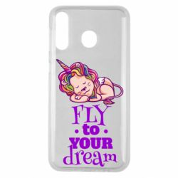 Чохол для Samsung M30 Fly to your dream and lion