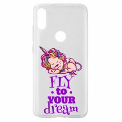 Чохол для Xiaomi Mi Play Fly to your dream and lion