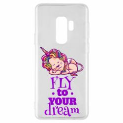 Чохол для Samsung S9+ Fly to your dream and lion