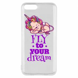 Чохол для Xiaomi Mi6 Fly to your dream and lion
