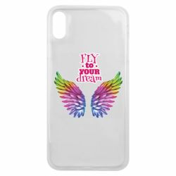 Чехол для iPhone Xs Max Fly to your dream