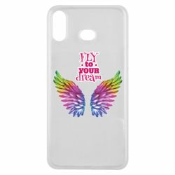 Чехол для Samsung A6s Fly to your dream