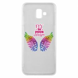 Чохол для Samsung J6 Plus 2018 Fly to your dream