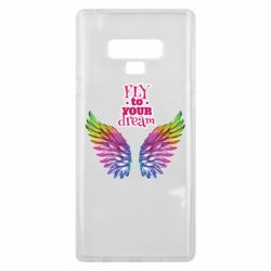 Чохол для Samsung Note 9 Fly to your dream