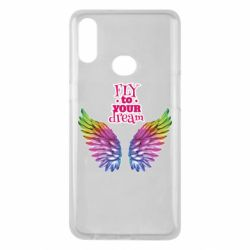 Чехол для Samsung A10s Fly to your dream