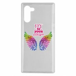 Чохол для Samsung Note 10 Fly to your dream