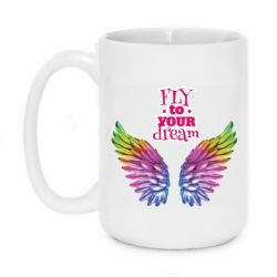 Кружка 420ml Fly to your dream