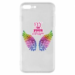 Чехол для iPhone 7 Plus Fly to your dream